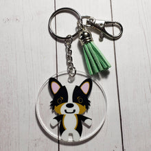 Load image into Gallery viewer, Holiday Ornaments and Keychains - Pups of Color