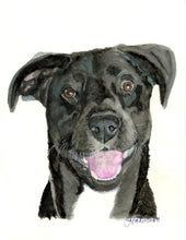 Load image into Gallery viewer, Custom Watercolor on Archival Paper - Small to Medium Size Format - Pups of Color