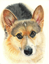 Load image into Gallery viewer, Custom Colored Pencil Portrait on Archival Paper - Pups of Color