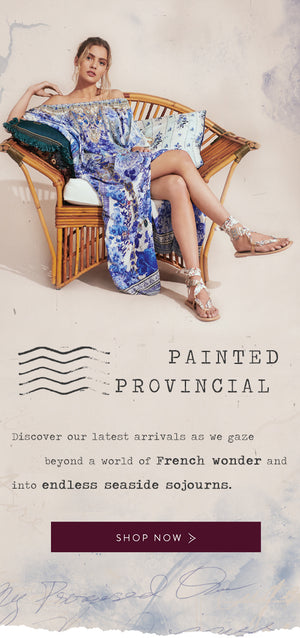 Shop New Arrivals | Painted Provincial Exclusively Available at CAMILLA