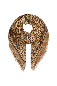 EYELASH FRINGE SCARF LADY LODGE