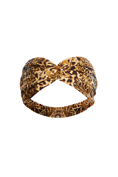 WOVEN TWIST HEADBAND LADY LODGE