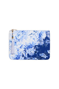 SMALL CANVAS CLUTCH HIGH TEA