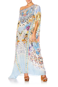 GIRL NEXT DOOR ROUND NECK KAFTAN
