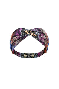 WOVEN TWIST HEADBAND LOVE ON THE WING