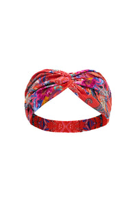 WOVEN TWIST HEADBAND FREE LOVE