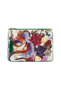 SMALL CANVAS CLUTCH GENTLE MOON