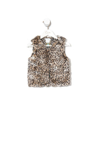 KIDS FAUX FUR VEST NOMADIC NYMPH