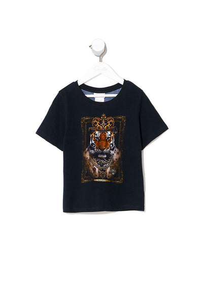 BOYS SHORT SLEEVE T-SHIRT DINING HALL DARLING