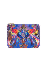 SMALL CANVAS CLUTCH PSYCHEDELICA