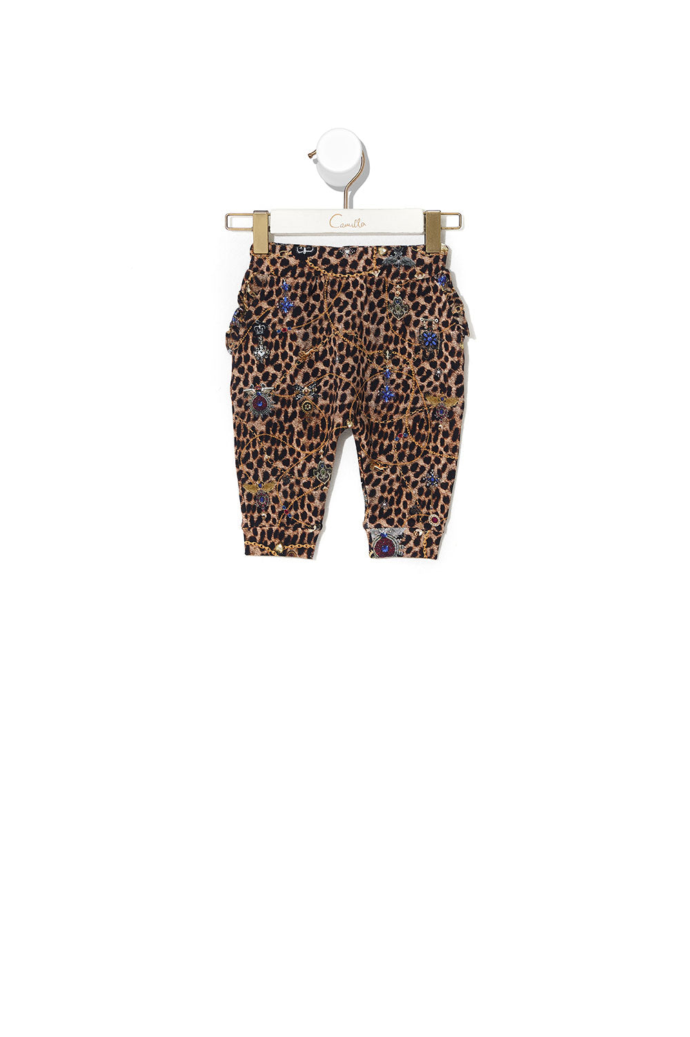 BABIES FRILL DROP CROTCH PANT POETIC ANARCHY