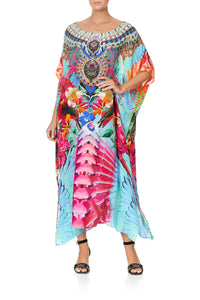 ROUND NECK KAFTAN THE FREE