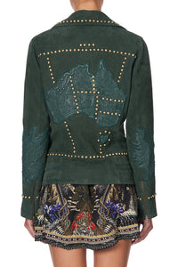 STUDDED BIKER JACKET AMONG THE GUMTREES