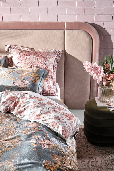 QUEEN BED QUILT COVER SET LE PALAIS DU ZAHIR