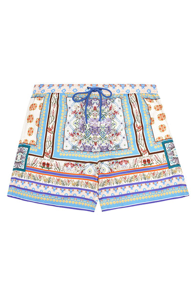 ELASTIC WAIST BOARDSHORT GONE COAST