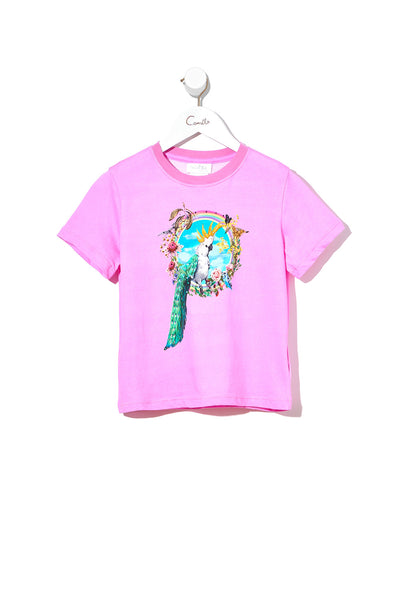 KIDS SHORT SLEEVE T-SHIRT LETS TAKE A TRIP