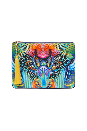 SMALL CANVAS CLUTCH REEF WARRIOR