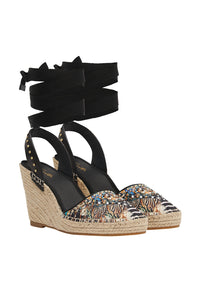 ESPADRILLE WEDGE LOST PARADISE