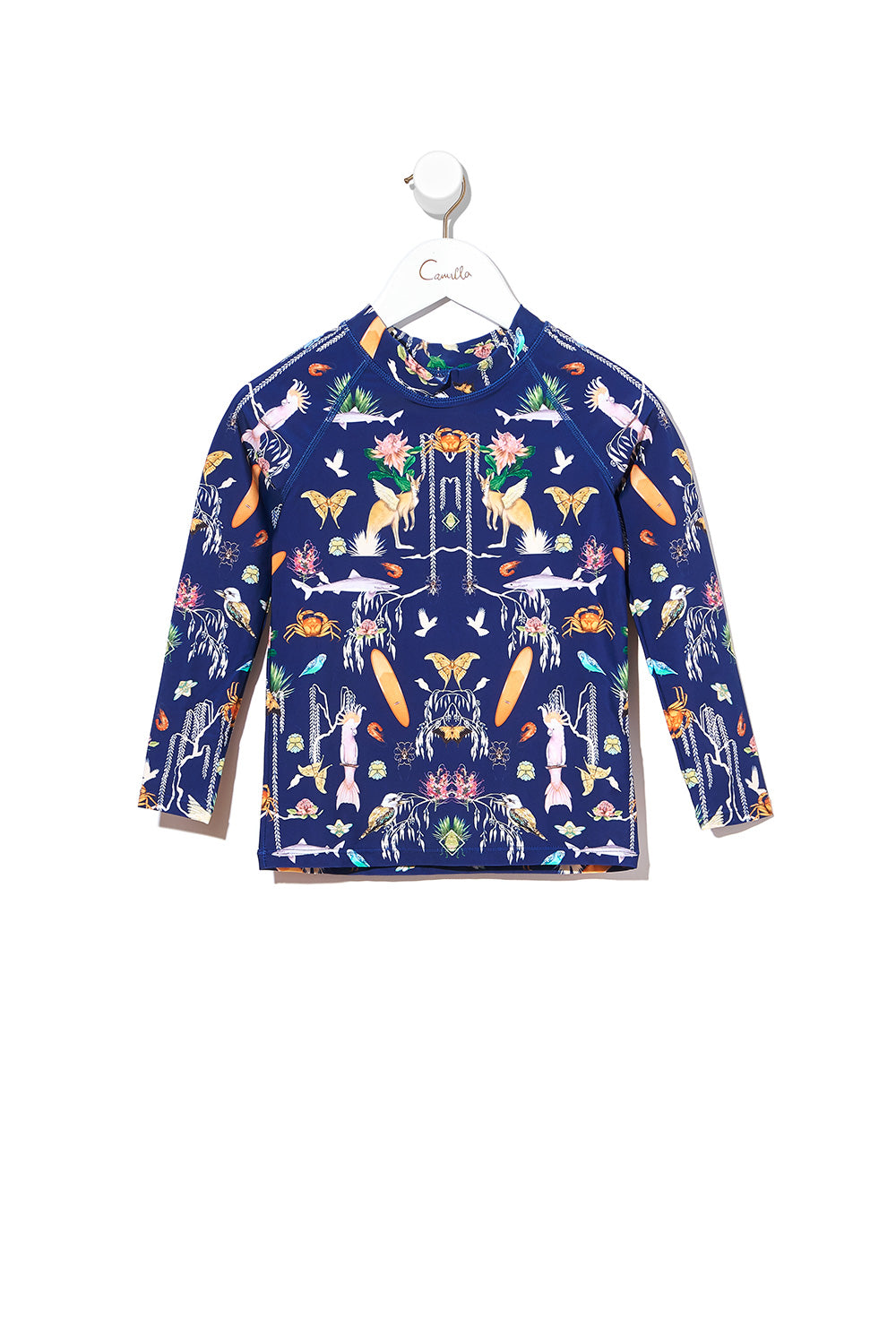 BOYS LONG SLEEVE RASHIE DESERT DANCE