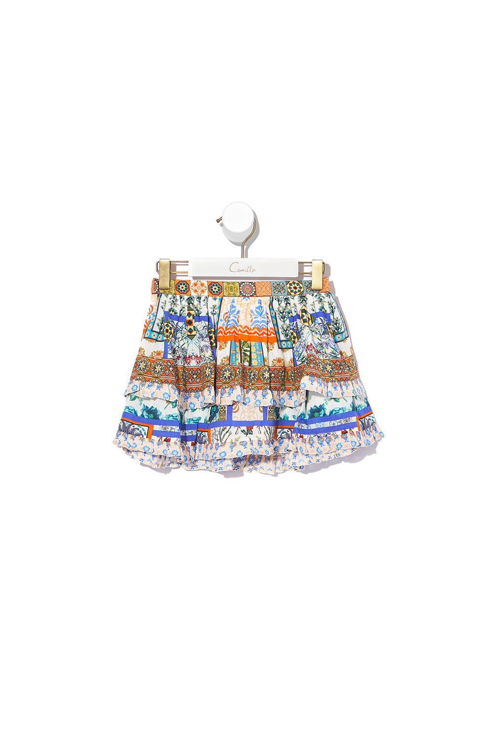 KIDS DOUBLE LAYER FRILL SKIRT GONE COAST