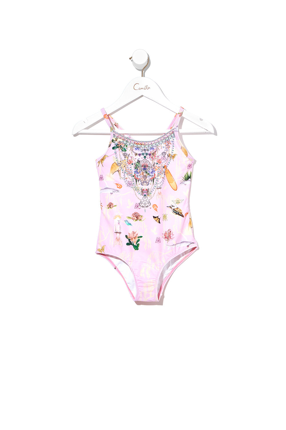 INFANTS ROUND NECK ONE PIECE OVER THE RAINBOW