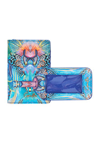 PASSPORT HOLDER AND LUGGAGE TAG REEF WARRIOR