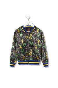 KIDS BOMBER JACKET REVERSIBLE BLACKHEATH BETTY
