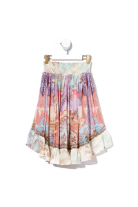 KIDS HIGH LOW HEM SKIRT ELECTRON LIBRE