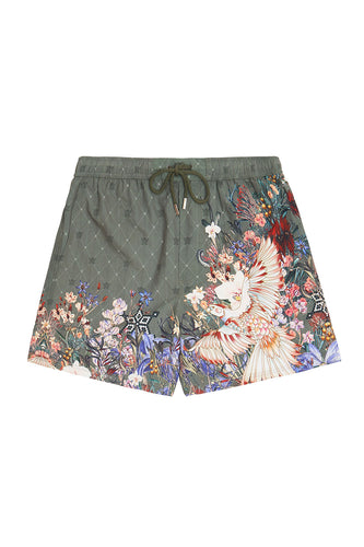 ELASTIC WAIST BOARDSHORT WATCHFUL WINGS