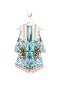 KIDS DOUBLE LAYER PLAYSUIT BEACH SHACK