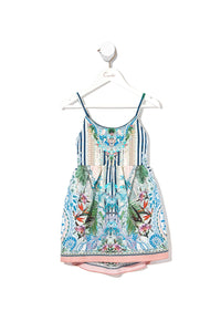 KIDS TIE BACK DRESS BEACH SHACK