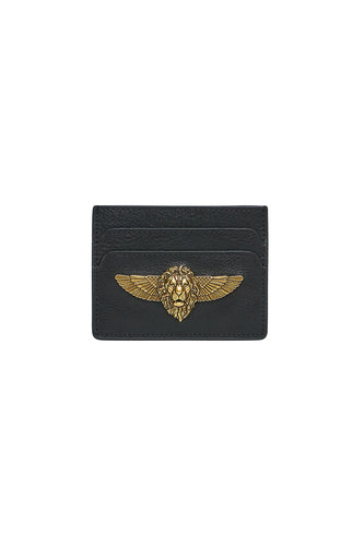 CARD HOLDER SOLID BLACK