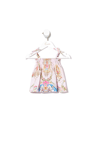BABIES SHIRRING SET LITTLE PETAL