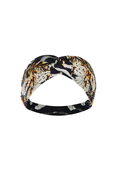 WOVEN TWIST HEADBAND LOST PARADISE