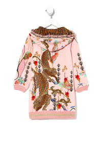INFANTS HOODIE DRESS ZIBA ZIBA