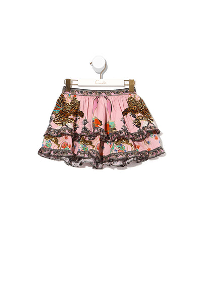 KIDS DOUBLE LAYER FRILL SKIRT ZIBA ZIBA
