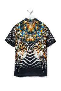 MENS SHORT SLEEVE SHIRT LOST PARADISE
