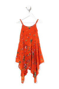 KIDS HANDKERCHIEF HEM DRESS PARADISE CIRCUS