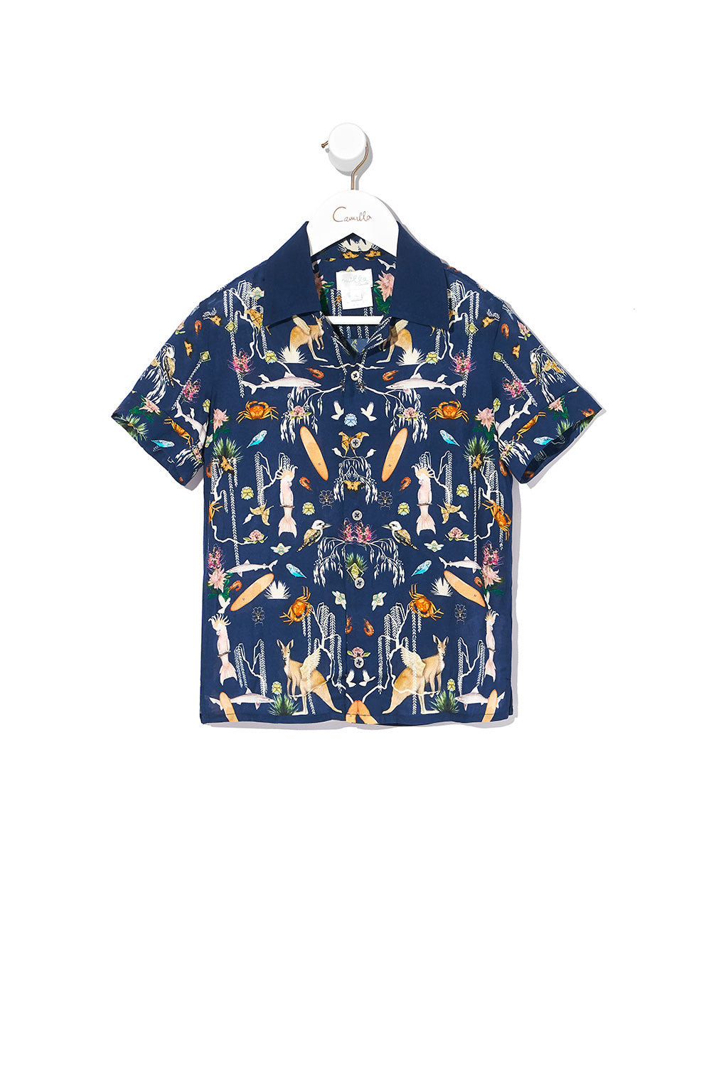 BOYS SHORT SLEEVE SHIRT DESERT DANCE