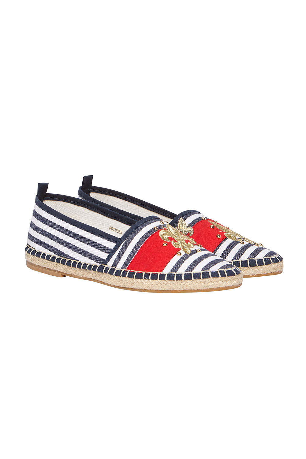 TRADITIONAL ESPADRILLE STRIPE