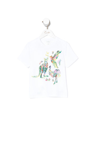 KIDS SHORT SLEEVE T-SHIRT PARADISE CIRCUS