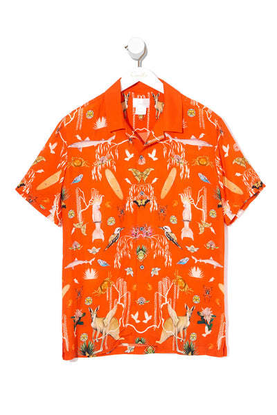 MENS SHORT SLEEVE SHIRT CINEMA PARADISO