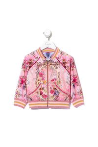 KIDS REVERSIBLE BOMBER JACKET LA BELLE