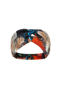WOVEN TWIST HEADBAND NIGHT FLIGHT