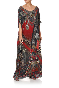 ROUND NECK KAFTAN LONDON CALLING