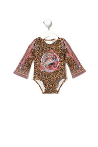 BABIES FLARED SLEEVE ONESIE MAYFAIR MARY