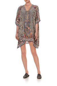 SHORT LACE UP KAFTAN WILD CHILD