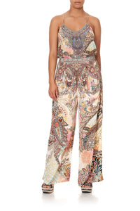WIDE LEG TROUSER WITH FRONT POCKETS CARNABY DISCO