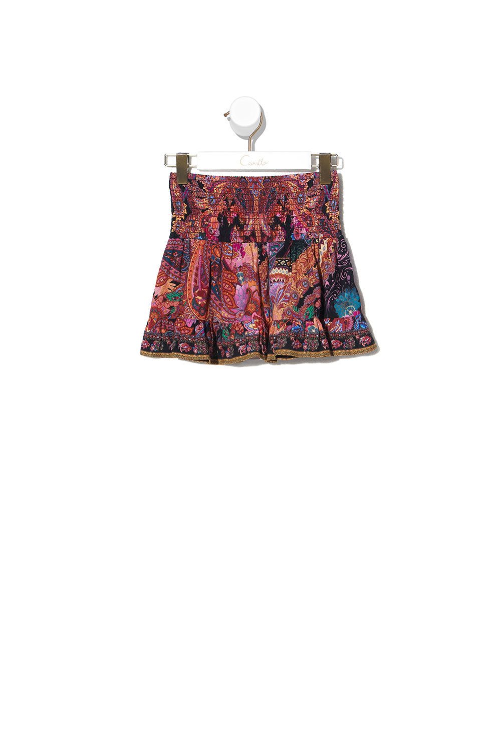 KIDS SHIRRING WAIST SKIRT 4-10 MAYFAIR MARY