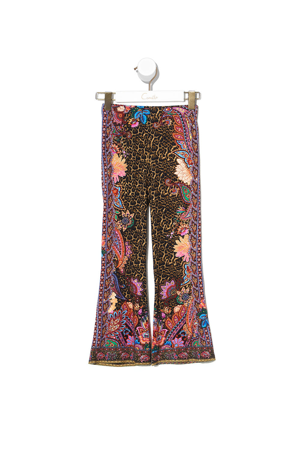 KIDS FLARED HEM LEGGINGS 4-10 MAYFAIR MARY